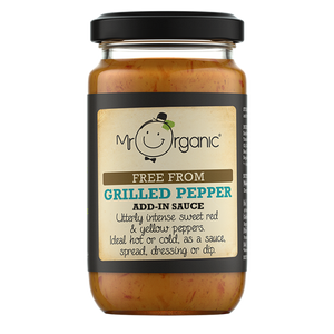 MR ORGANIC Free From Grilled Pepper Stir-In Sauce 190g