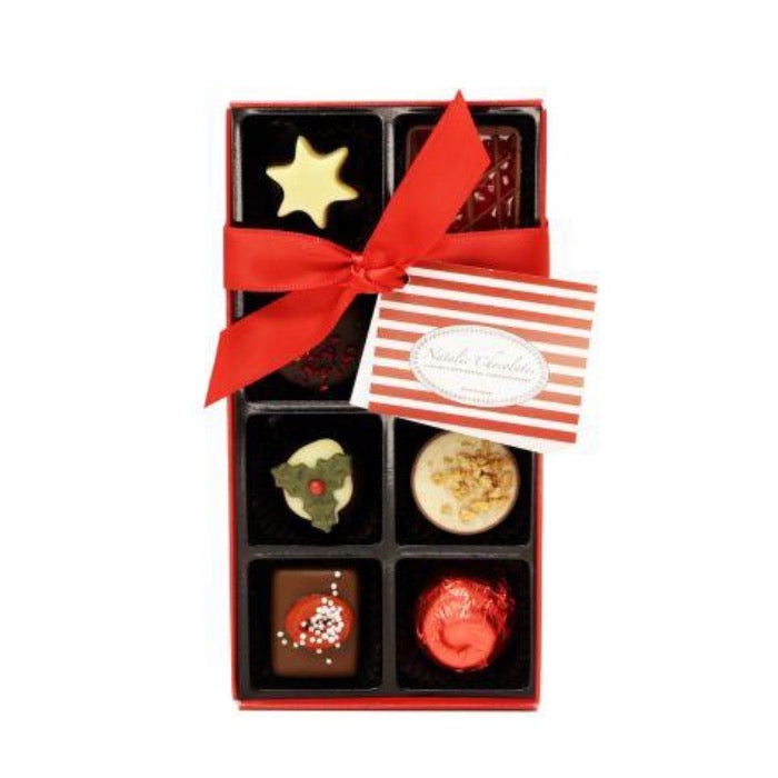 NATALIE CHOCOLATES - Christmas Belgian Chocolate Selection 100g