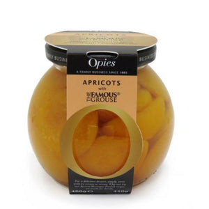 OPIES Apricots with Famous Grouse 460g
