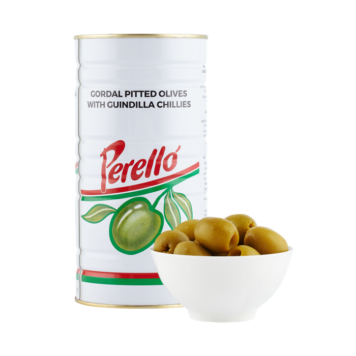 PERELLÓ GORDAL Pitted Olives 150g