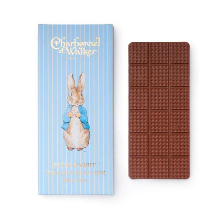 CHARBONNEL ET WALKER Peter Rabbit Milk Chocolate Bar 80g