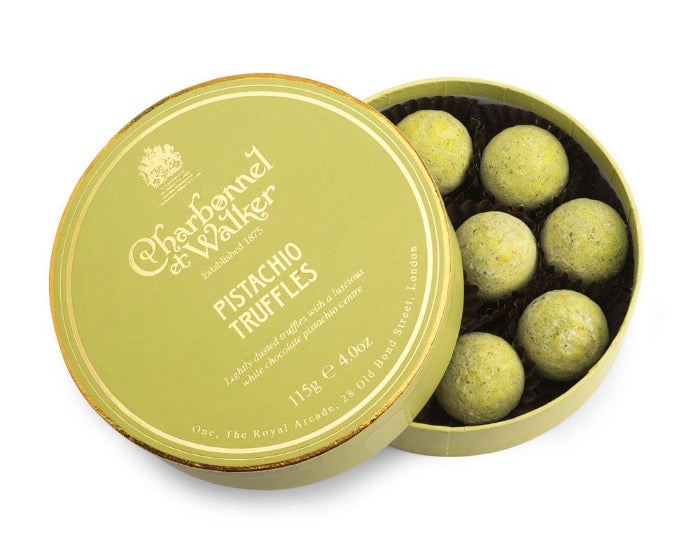 CHARBONNEL ET WALKER Pistachio Chocolate Truffles 115g