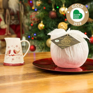 GEORGIE PORGIES Traditional, Handmade & Award-Winning Christmas Pudding 454g