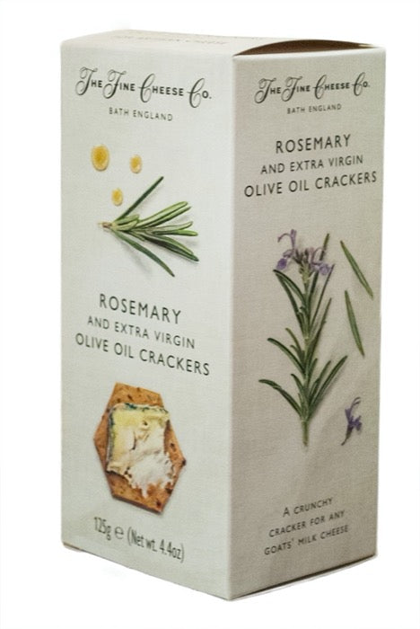 THE FINE CHEESE CO. Rosemary & Extra Virgin Olive Oil Crackers 125gr