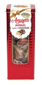 ISAIA Sassello Chocolate Amaretti tin 180GR