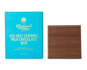 CHARBONNEL ET WALKER Sea Salt Caramel Milk Chocolate Butler Bar 80g