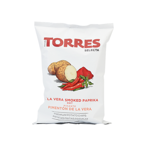 TORRES Smoked Paprika Potato Crisps 150g