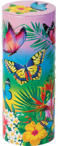 CHURCHILL'S CONFECTIONERY Tropical Butterflies Mini chocolate chip shortbread 150g
