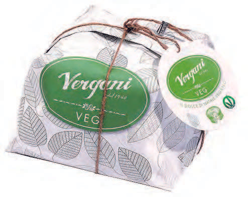 VERGANI Vegan Traditional Panettone 750GR
