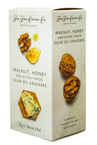 THE FINE CHEESE CO. Walnut, Honey & Extra Virgin Olive Oil Crackers 125gr
