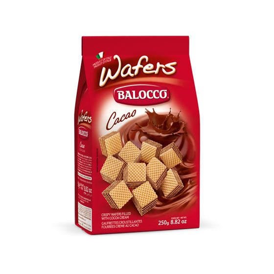 BALOCCO WAFERS CACAO 250GR