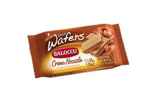 BALOCCO Wafer Hazelnut 45gr
