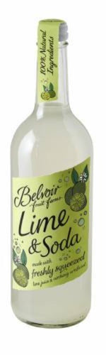 BELVOIR Lime & Soda 750ml