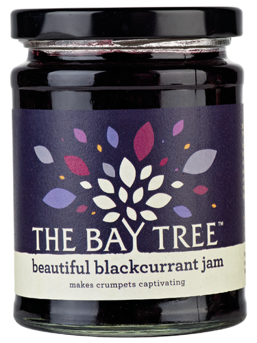 THE BAY TREE Beautiful Blackcurrant Jam 340gr
