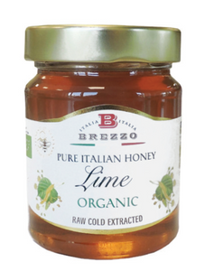 BREZZO Lime Organic Honey 350gr