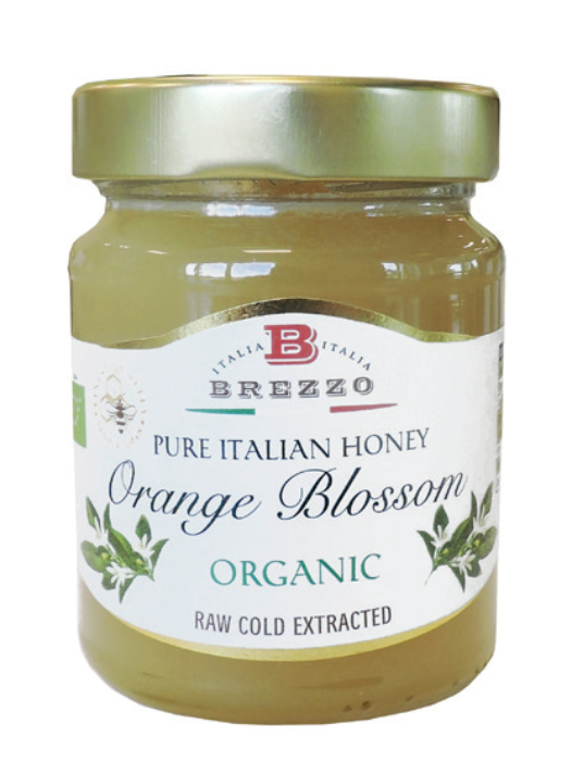 BREZZO Orange Blossom Organic Honey 350gr