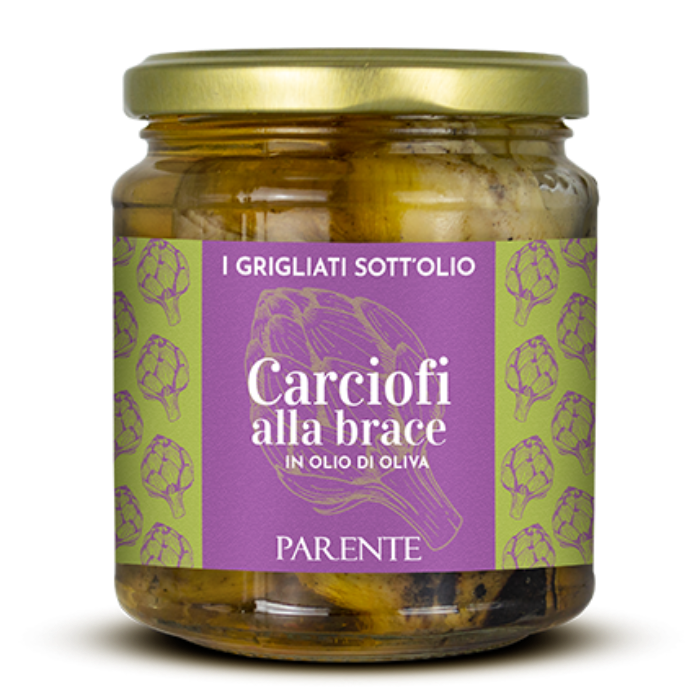 PARENTE Grilled Artichokes in Olive Oil 280g