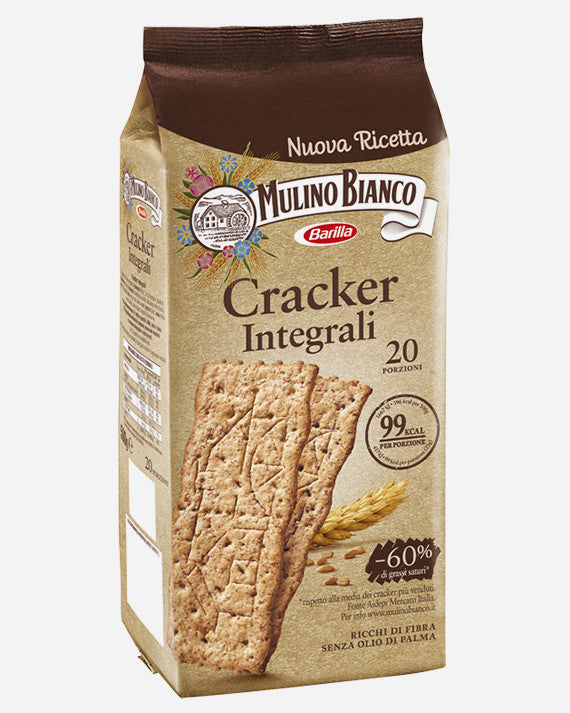 MULINO BIANCO Crackers Integrali Wholemeal 500gr