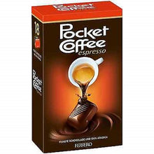 FERRERO Pocket Coffee Espresso Chocolates 18 pcs box