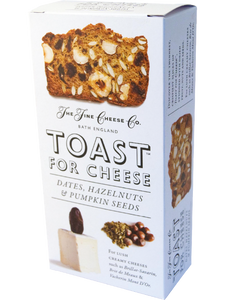THE FINE CHEESE CO. Dates, Hazelnuts & Pumpkin Seeds Toast for Cheese 100gr