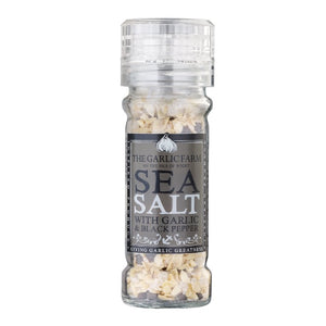 THE GARLIC FARM Garlic Sea Salt with Black Pepper