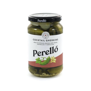 PERELLO Cocktail Gherkins 190g