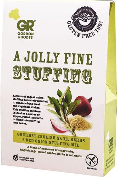 GORDON RHODES GF Sage & Red Onion Stuffing 125g