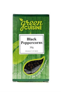 GREEN CUISINE Peppercorns Black 30g