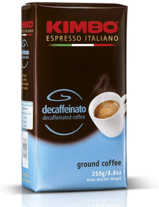 KIMBO Decaffeinated Ground Coffee 250gr