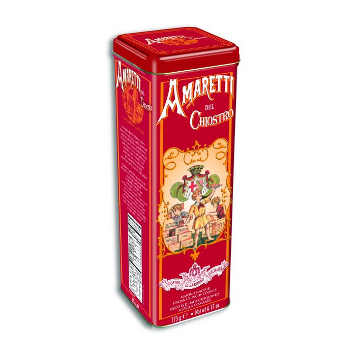 Lazzaroni Amaretti del Chiostro Tower tin 175GR