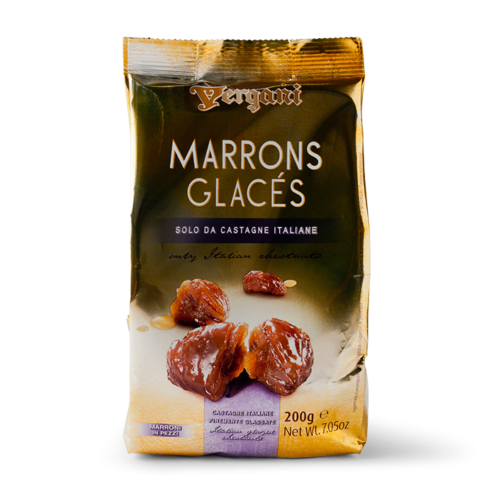 VERGANI Marrons Glaces Pieces Bag 200gr