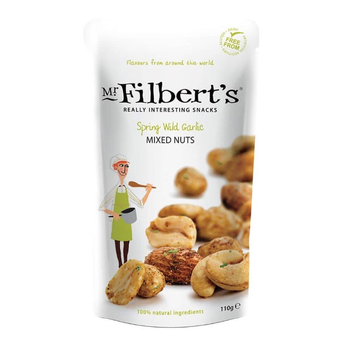 MR FILBERT'S Spring Wild Garlic Mixed Nuts 110g