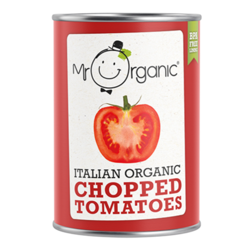 MR ORGANIC Italian Organic Chopped Tomatoes 400gr
