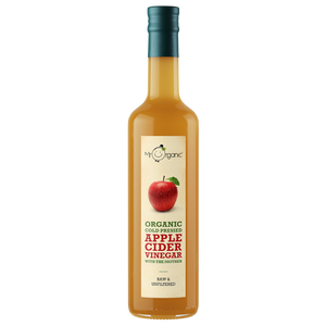 MR ORGANIC Cold Pressed Apple Cider Vinegar With The Mother 500ml