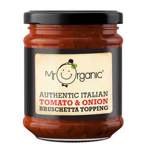 MR ORGANIC Tomato and Onion Bruschetta topping 200ml