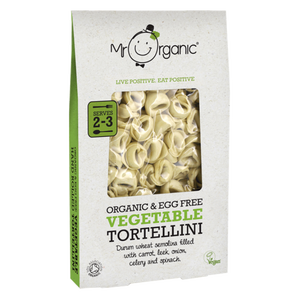 MR ORGANIC Vegetable Tortellini 250g