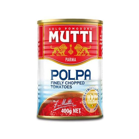 MUTTI CHOPPED TOMATOES 400GR
