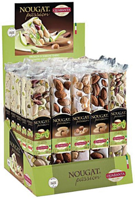 QUARANTA Nougat Bar 100gr
