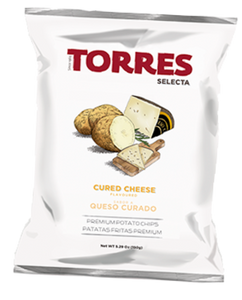 TORRES IBERICO Cured Cheese flavoured Potato Chips 150g