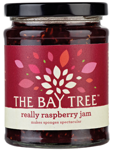 THE BAY TREE Really Raspberry Jam 340gr