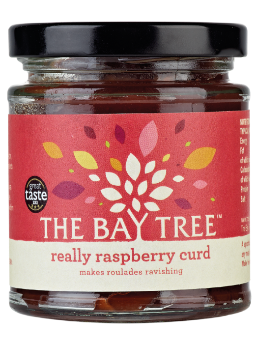 THE BAY TREE Really Raspberry Curd 200gr