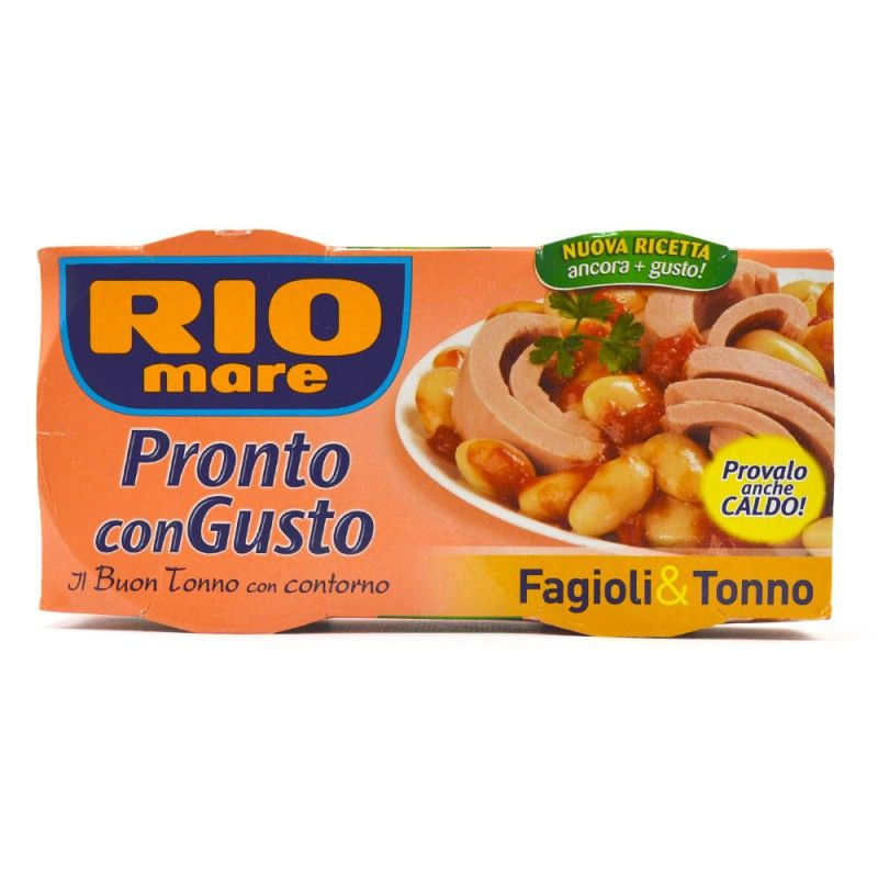 RIO MARE TUNA AND BEANS 2PACK X 160GR