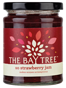 THE BAY TREE So Strawberry Jam 340gr