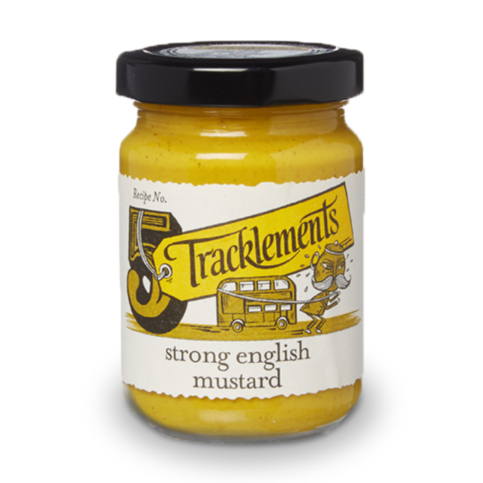 TRACKLEMENTS Strong English Mustard 140g