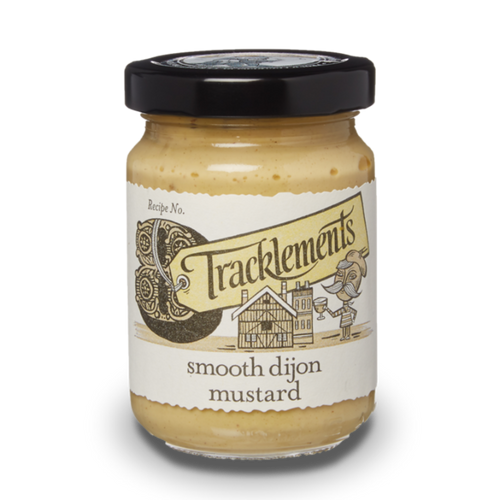 TRACKLEMENTS Smooth Dijon Mustard 140g