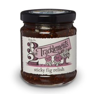 TRACKLEMENTS Sticky Fig Relish 250g
