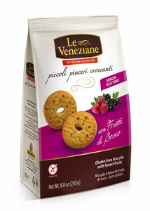 LE VENEZIANE Forest Fruits Biscuits 250gr
