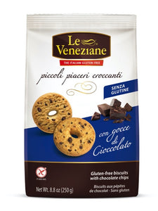 LE VENEZIANE Chocolate Chips Biscuits 250gr