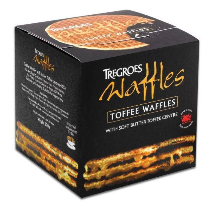 TREGROES Butter Toffee Waffles 270g