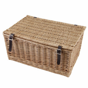 MEDIUM WICKER HAMPER 20   INCH